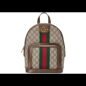 Gucci Ophidia Backpack GG Supreme Small